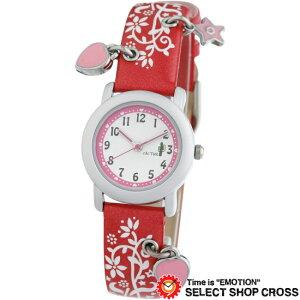 カクタス CACTUS キッズ 腕時計 チャーム付 ガールズ CAC-28-L07