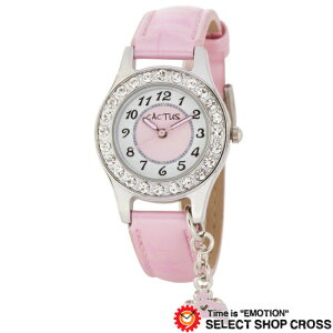カクタス CACTUS キッズ 腕時計 チャーム付 ガールズ CAC-71-L05