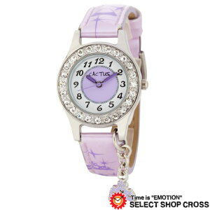 カクタス CACTUS キッズ 腕時計 チャーム付 ガールズ CAC-71-L09