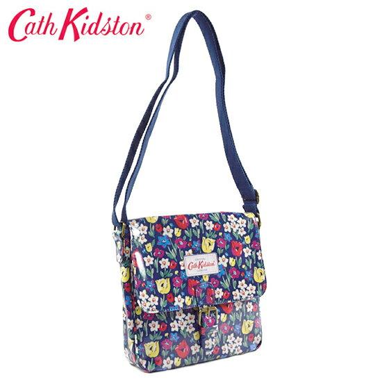 Cath Kidston キャスキッドソン ショルダーバッグ/斜めがけミニバッグ mini satchel ミニ サッチェル インディゴフラワー 482127