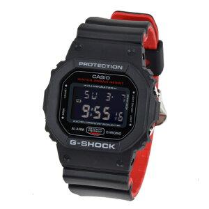 CASIOカシオG-SHOCKGショック腕時計デジタルメンズブラックレッドDW-5600HR-1DR海外モデル