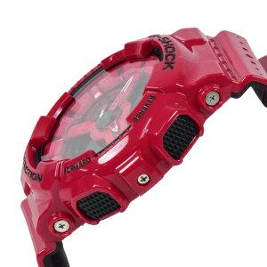 CASIOカシオG-SHOCKGショック腕時計クオーツメンズレッドブラックGA-110LPA-4ADR海外モデル