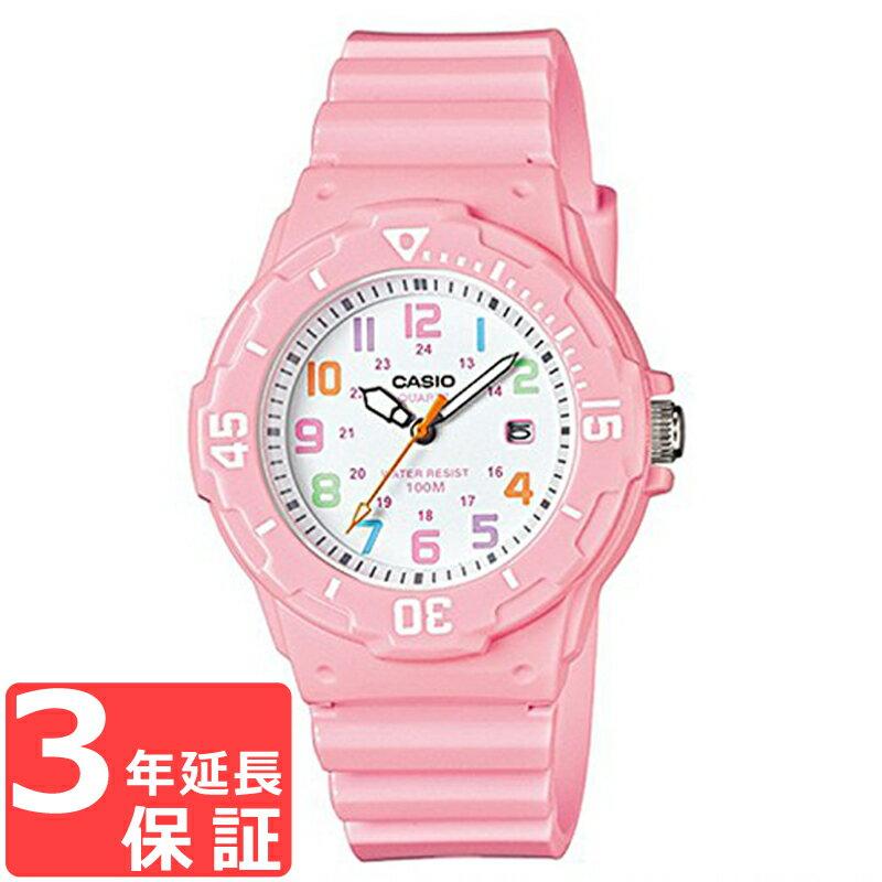 CASIO カシオ チプカシ チープカシオ メンズ レディース キッズ 子供 ユニセックス 腕時計 ブランド デジタル ピンク ホワイト LRW-200H-4B2 【あす楽】