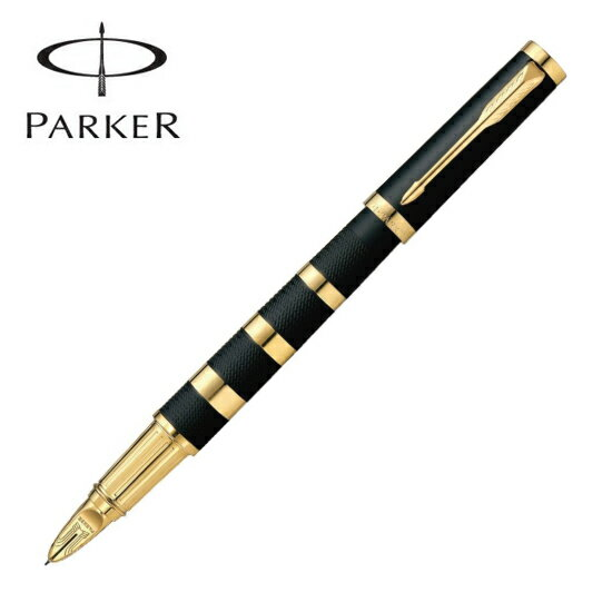 パーカー PARKER 筆記用具 5th インジェニュイティ ブラックラバー&メタルGT ペン先・F 1975767【着後レビューを書いて1000円OFFクーポンGET】