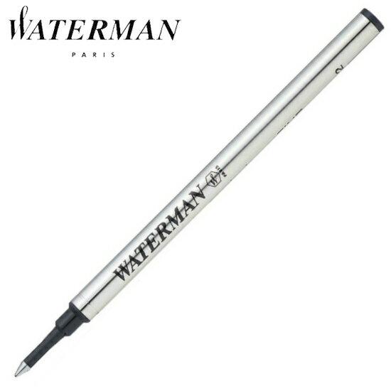 ウォーターマン 筆記用具 ローラーボール替芯 ブラック F (ボール径0.7mm) 1964019 正規品 ゆうパケット対応