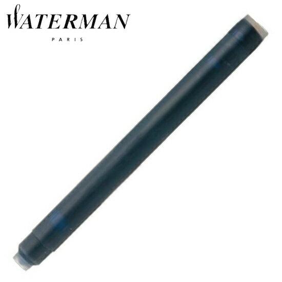 ウォーターマン 筆記用具 カートリッジ STD23 ミステリアス ブルー(ブルーブラック) S0110910 正規品 【着後レビューを書いて1000円OFFクーポンGET】 ゆうパケット対応