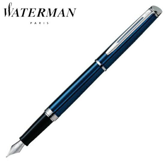 ウォーターマン 筆記用具 万年筆 メトロポリタン エッセンシャル メタリックブルーCT F S2259192 正規品