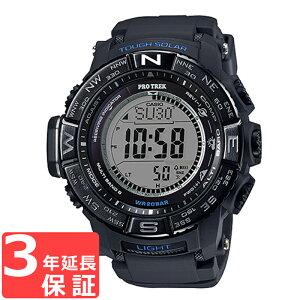CASIOカシオPROTREKプロトレック電波ソーラー腕時計メンズブラックPRW-3510Y-1DR海外モデル