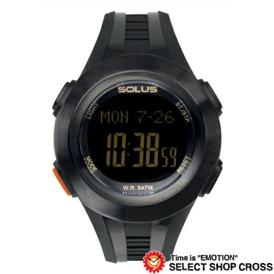 ソーラス SOLUS 腕時計 心拍計測機能付き ユニセックス PRO 101 01-101-01【着後レビューを書いて1000円OFFクーポンGET】