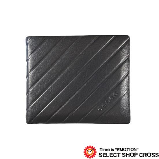 CROSS クロス GRABADO GRABADO 二つ折り財布 AC-178371-50 ネイビー 牛革 レザー【着後レビューを書いて1000円OFFクーポンGET】