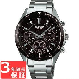 【3年保証】 SEIKO セイコー ALBA アルバ WIRED ワイアード ソーラー メンズ 腕時計 AGAD087 正規品 【あす楽】