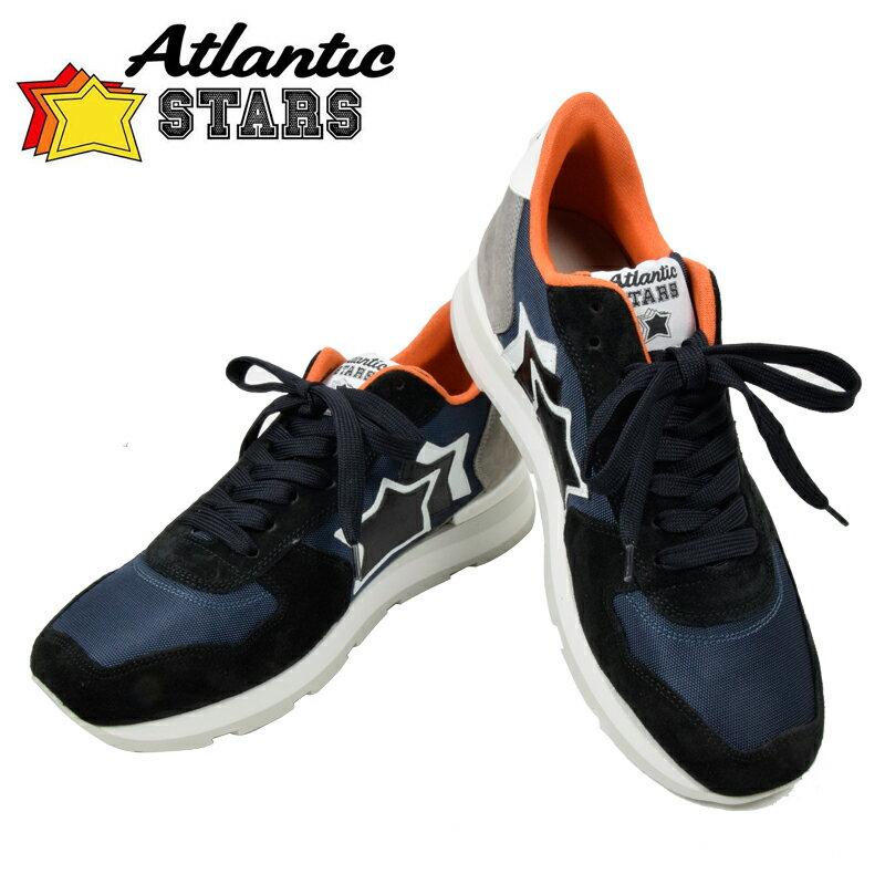 Atlantic STARS アトランティックスターズ 2017SSモデル ANTARES アンタレス ブラック NB 86B 40 41 42 43 44 45 メンズ スニーカー