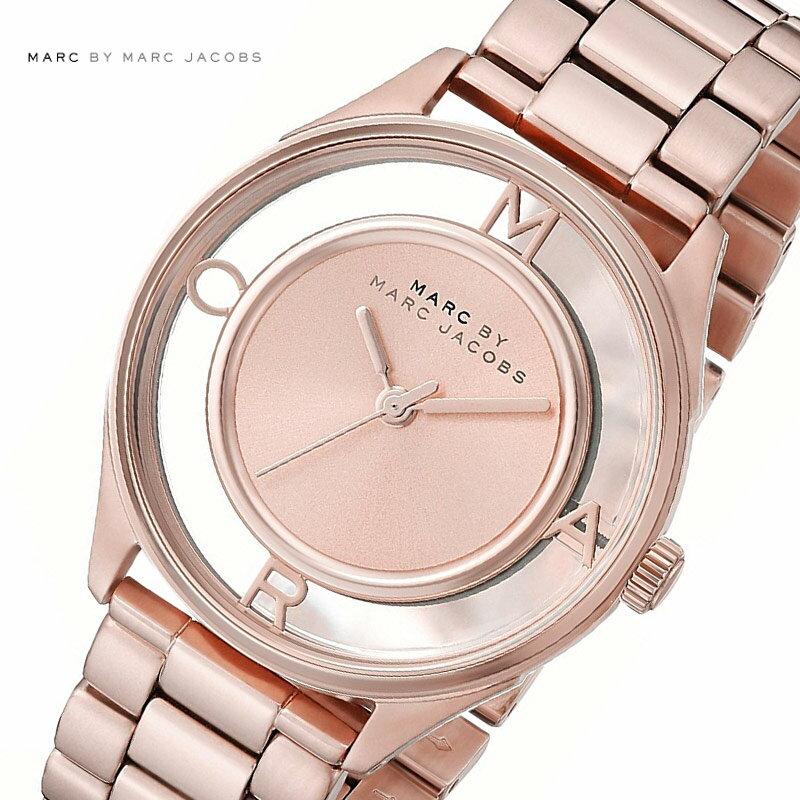 MARC BY MARCJACOBS マークバイマークジェイコブス 腕時計 レディース Tether ティザー ピンクゴールド MBM3414【着後レビューを書いて1000円OFFクーポンGET】 【あす楽】