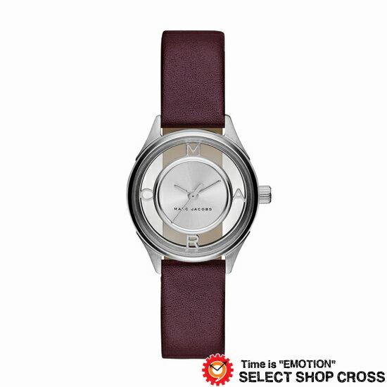MARC BY MARCJACOBS マークバイマークジェイコブス 腕時計 ブランド レディース Tether ティザー シルバー/ダークブラウンレザーベルト MJ1461 誕生日プレゼント 男性 ホワイトデー ギフト