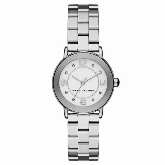 MARC BY MARCJACOBS マークバイマークジェイコブス 腕時計 ブランド レディース Riley ライリー ホワイト/シルバー MJ3472 誕生日プレゼント 男性 ホワイトデー ギフト