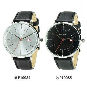 PAULSMITHポールスミス腕時計選べる18カラーメンズレディース革ベルトメタルメッシュシルバーブルーブラックホワイトマルチP1005P1008P1009ps