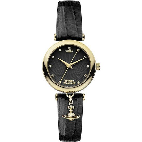 ヴィヴィアンウエストウッド VivienneWestwood VV108BKBK レディース 腕時計 ブラック/ブラック