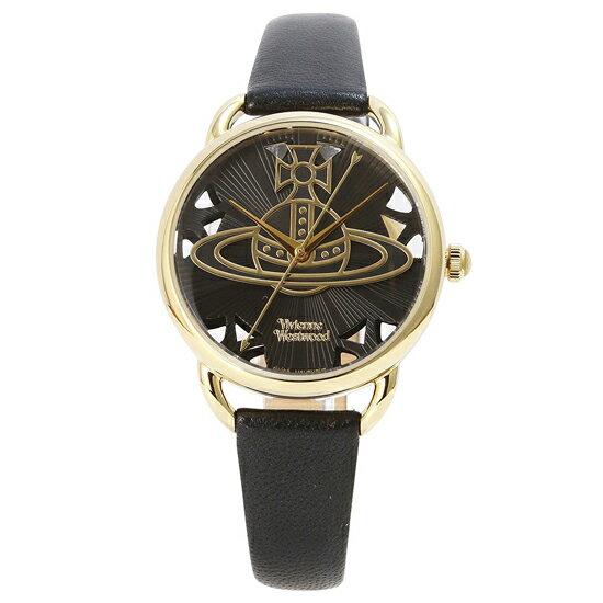 ヴィヴィアンウエストウッド VivienneWestwood リーデンホール VV163BKBK レディース 腕時計 ブラック