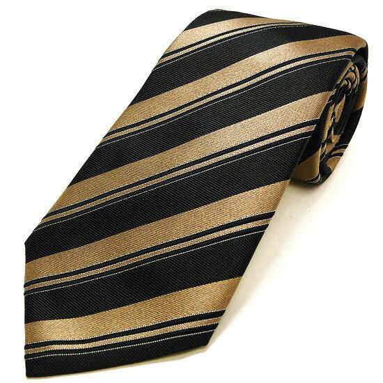 ARMANI アルマーニ ネクタイ シルク100% ストライプ柄 ブラック ac17-7a339-07220 【あす楽】