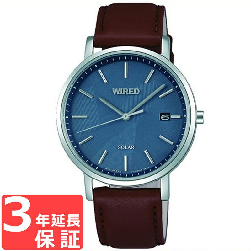 【3年保証】 SEIKO セイコー WIRED ワイアード ソーラー メンズ レディース ユニセックス 腕時計 ブランド AGAD091 正規品