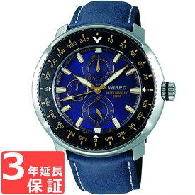 【3年保証】 SEIKO セイコー WIRED ワイアード クオーツ メンズ 腕時計 AGAT418 正規品 【あす楽】