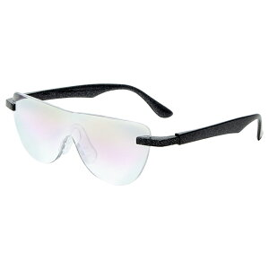おしゃれ メガネルーペ メガネ式拡大鏡 ブルーライトカット対応 ブラック 1.6倍 老眼鏡 眼鏡 遠近両用 男女兼用 ハンズフリーグラス 読書 MO-005-BKB 【あす楽】