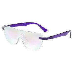 おしゃれ メガネルーペ メガネ式拡大鏡 ブルーライトカット対応 パープル 1.6倍 老眼鏡 眼鏡 遠近両用 男女兼用 ハンズフリーグラス 読書 MO-005-PRB 【あす楽】
