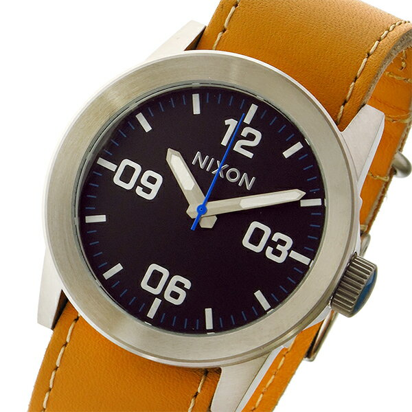 ニクソン NIXON プライベート PRIVATE クオーツ メンズ 腕時計 A0491602 ブラック