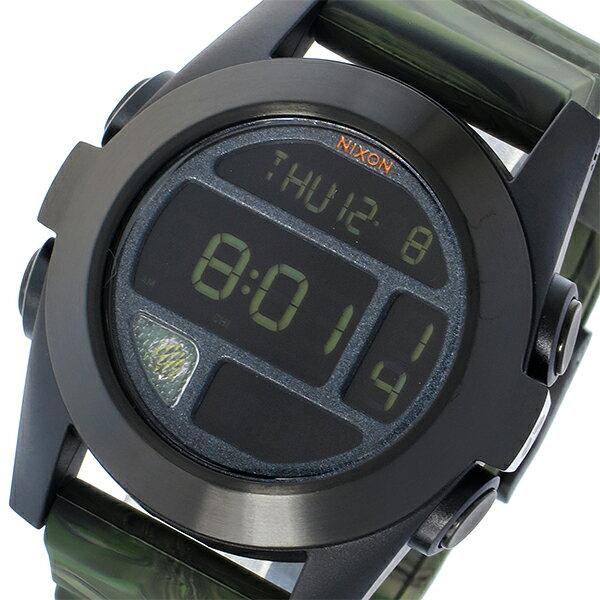 ニクソン NIXON ユニット エクスペディション THE UNIT クオーツ ユニセックス 腕時計 A3651727 グリーンマーブル