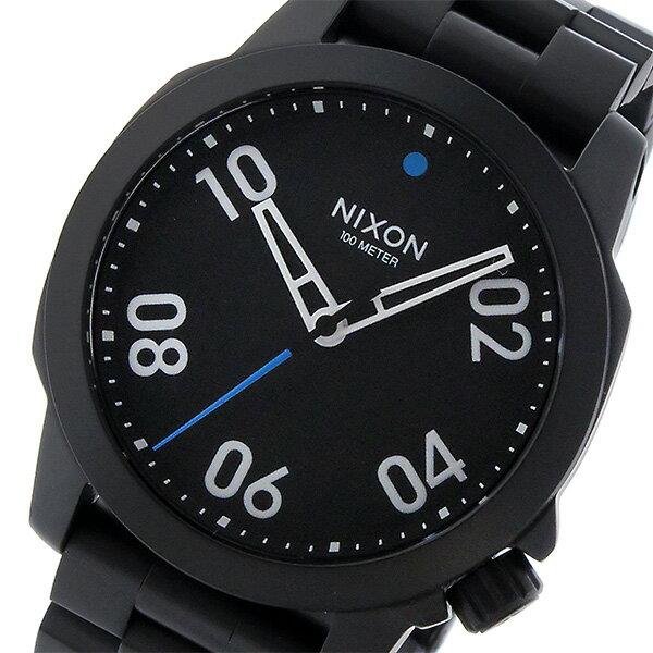 ニクソン NIXON レンジャー 40 RANGER 40 クオーツ メンズ 腕時計 A468001 ブラック