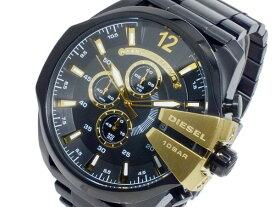 ディーゼル DIESEL クオーツ メンズ クロノ 腕時計 DZ4338 ブラック