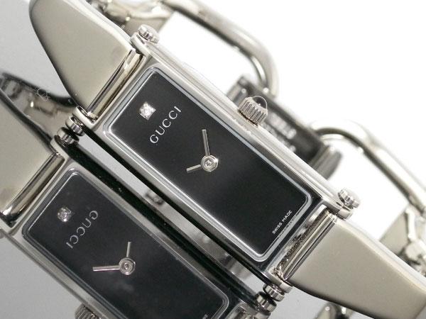 グッチ GUCCI バングル ダイヤ レディース 腕時計 YA015555