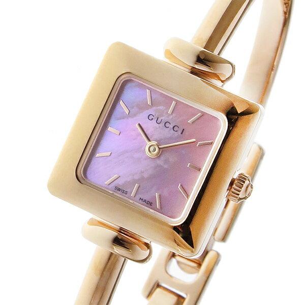 グッチ GUCCI 1900 クオーツ レディース 腕時計 YA019521 ピンクパール