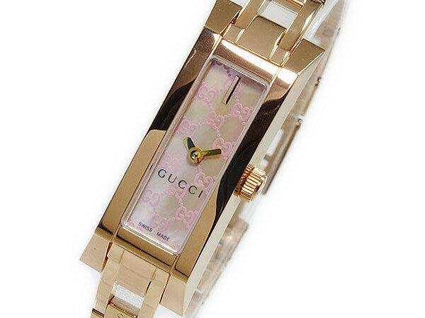 グッチ GUCCI ジーリンク G-LINK クオーツ レディース腕時計 YA110521