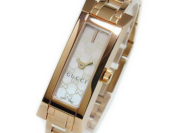 グッチ GUCCI ジーリンク G-LINK クオーツ レディース腕時計 YA110522
