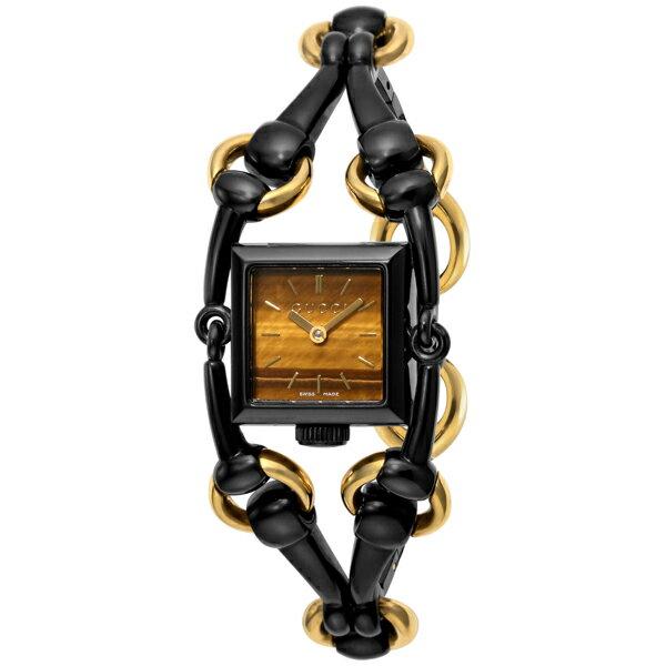 グッチ GUCCI シニョリーア クオーツ レディース 腕時計 YA116518 ブラウン