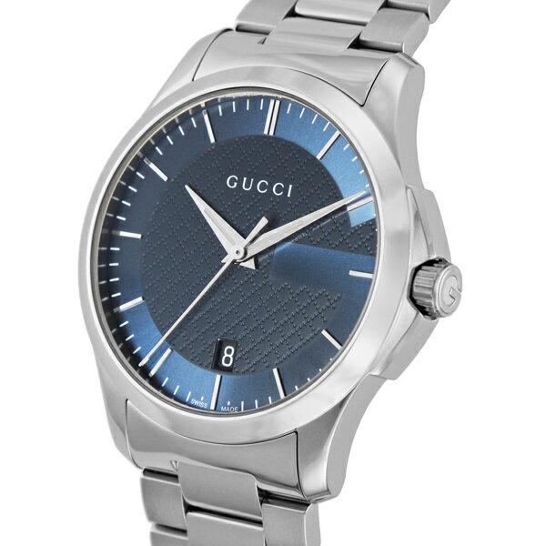 グッチ GUCCI Gタイムレス クオーツ ユニセックス 腕時計 YA126440 ブルー
