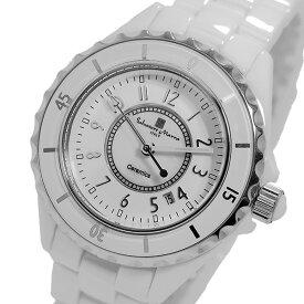 サルバトーレ マーラ SALVATORE MARRA クオーツ レディース 腕時計 ブランド SM15151-WHA ホワイト/シルバー
