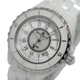 サルバトーレ マーラ SALVATORE MARRA クオーツ レディース 腕時計 ブランド SM15151-WHR ホワイト/シルバー