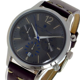 サルバトーレ マーラ SALVATORE MARRA クオーツ メンズ レディース ユニセックス 腕時計 ブランド SM17110-SSGY グレー
