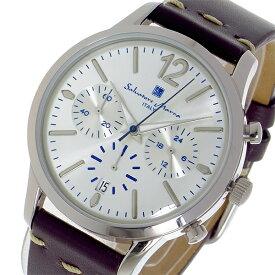 サルバトーレ マーラ SALVATORE MARRA クオーツ メンズ レディース ユニセックス 腕時計 ブランド SM17110-SSWH シルバー