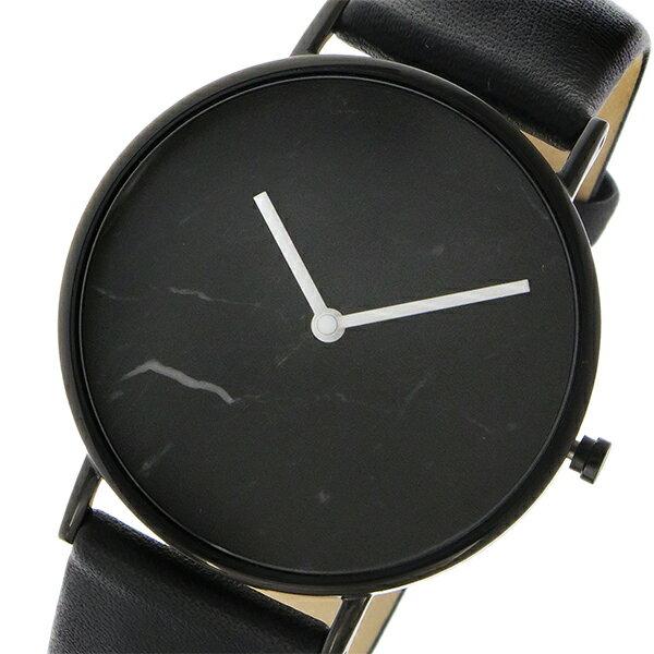 ザ ホース THE HORSE ストーンダイアル ユニセックス 腕時計 STO123-C1 ブラックマーブル/ブラック