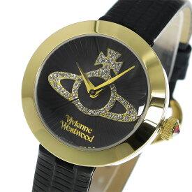 ヴィヴィアン ウエストウッド Vivienne Westwood クオーツ レディース 腕時計 ブランド VV150GDBK ブラック
