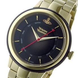 ヴィヴィアン ウエストウッド Vivienne Westwood ポルトベッロ レディース 腕時計 ブランド VV158BKGD ブラック