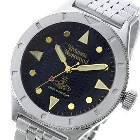 ヴィヴィアン ウエストウッド Vivienne Westwood スミスフィールド メンズ レディース ユニセックス 腕時計 ブランド VV160BKSL ブラック