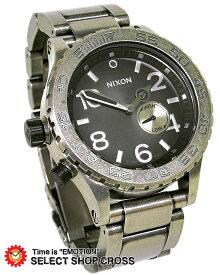 ニクソン NIXON 腕時計 THE 42-20TIDE ANTIQUE SILVER A035479 シルバー アンティーク 【あす楽】