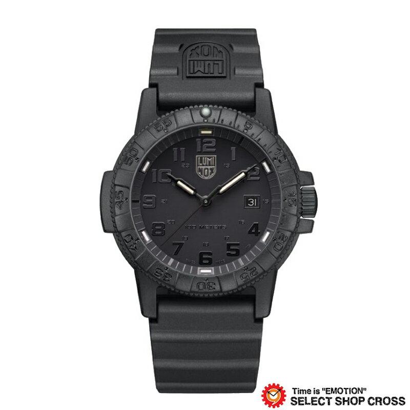 LUMINOX ルミノックス 腕時計 メンズ レザーバック シータートル ジャイアント LEATHERBACK SEA TURTLE GIANT オールブラック 0321 Blackout