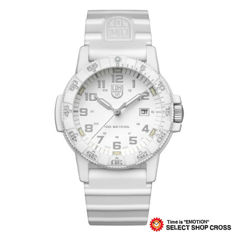 LUMINOX ルミノックス 腕時計 メンズ レザーバック シータートル ジャイアント LEATHERBACK SEA TURTLE GIANT オールホワイト 0327 Whiteout