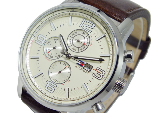 トミー ヒルフィガー TOMMY HILFIGER クオーツ メンズ 腕時計 1710337