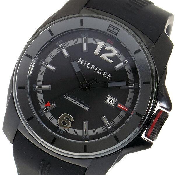 トミー ヒルフィガー TOMMY HILFIGER クオーツ メンズ 腕時計 1791114 ブラック